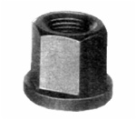 HEX LONG FLANGE NUT